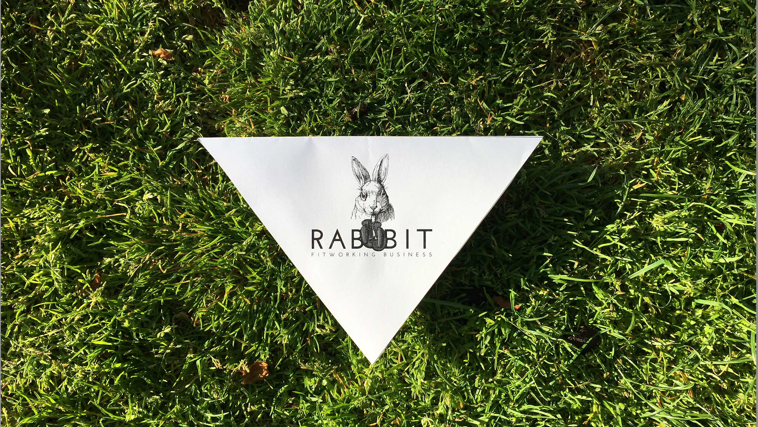 rabbit logo cesped